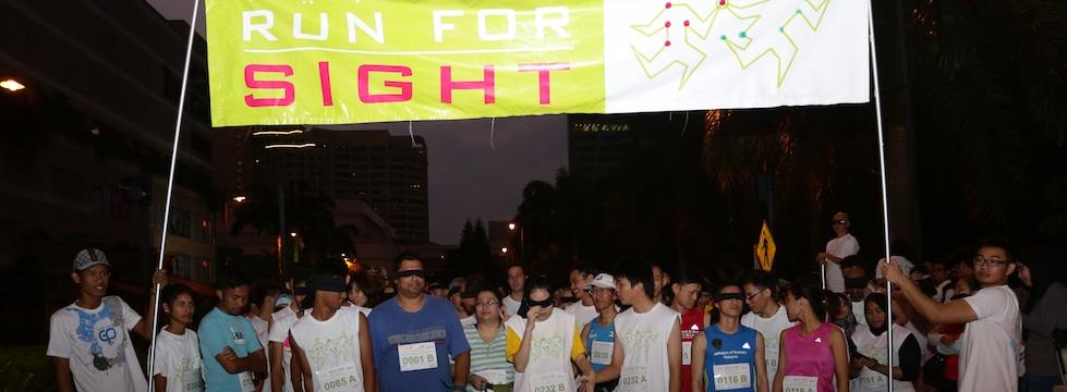 Promoting eye health program through like Climb for sight, Journey of sight, Run for sight, Hunt for sight , Race in the dark etc